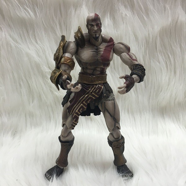 God of War III Kratos Play Arts Kai SquareEnix Figure 10 NE001007 god of war statue kratos ye bust kratos war cyclops scene avatar bloody scenes of melee full length portrait model toy wu843