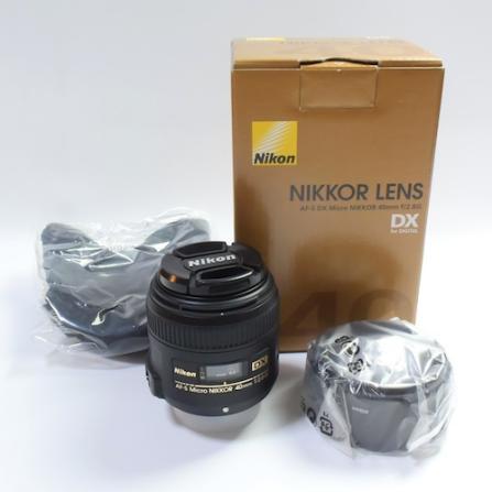 US $330 0 |Nikon AF S DX Micro NIKKOR 40mm f/2 8G Macro Lens for D5600  D5500 D3400 D3300 D610 D750 D810 D7200-in Camera Lens from Consumer  Electronics