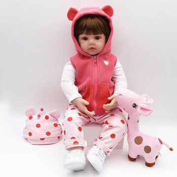 2019 Wholesale Reborn Baby Doll Handmade  Newborn Dolls Fashion Girls Toys For Cute Children Playmates Christmas Gifts 2