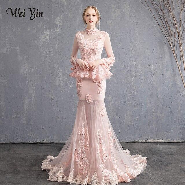 Long Sleeve Beautiful Dresses