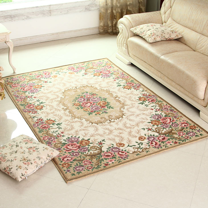 Us 8 54 22 Off Jacquard Large Carpets For Living Room European Nordic Hallway Rugs Bedroom Livingroom Wilton Bedside Mat Home Floor Rug In