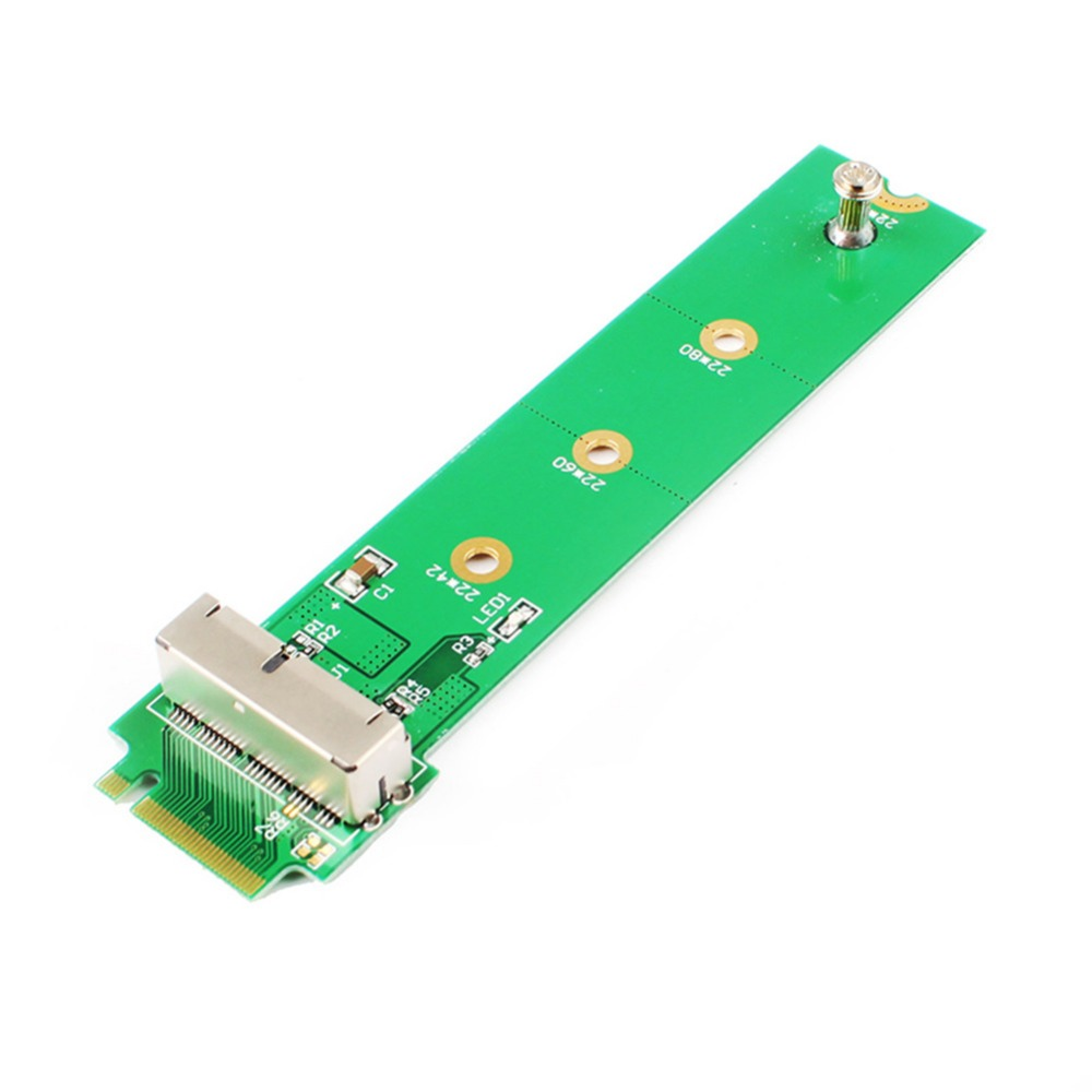M.2 NGFF X4 adapter card for 2013 2014 2015 apple MacBook Air A1465 A1466 SSD #262743