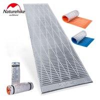 NatureHike алюминий закрывающий тент матрас утолщенный кемпинговый коврик 1 человек 2 цвета IXPE Открытый влагостойкий коврик Открытый Спорт