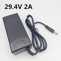 29,4 V 2A 29,4 Volt 2000mA Netzteil Ladegerät DC Lithium Li-auf Adapter EU US UK AU stecker Transformator Konverter