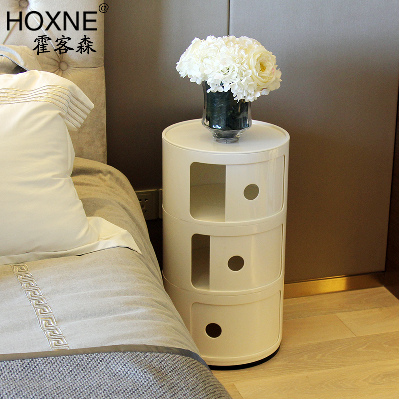 Mini plastic circular corner bedroom bedside locker cabinet simple mini plastic circular corner bedroom bedside locker cabinet simple modern multifunctional storage cabinet in bar tables from furniture on aliexpress watchthetrailerfo