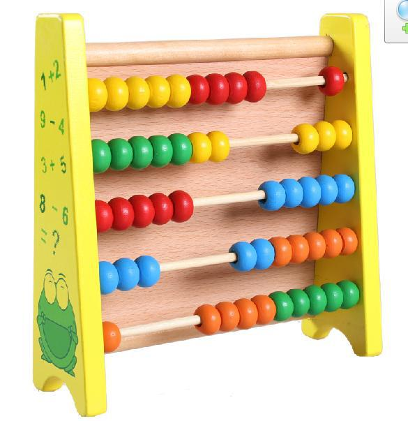 Free shipping children mathematics teaching AIDS Wooden initiation toy multipurpose computational frames Drawing board figure in Math Toys from Toys Hobbies