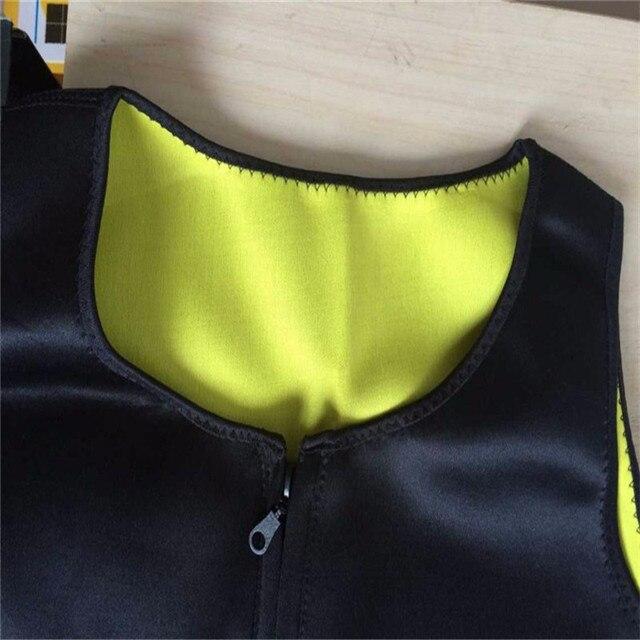 Men Slimming Vest Neoprene Shaper Sweat Thermal Belt Body Shaper Posture Trimmer Waist Abdomen Trainer Corsets  Shapers 5