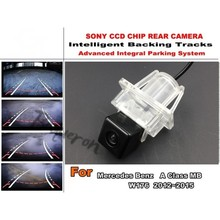 For Mercedes Benz A Class MB W176 2012~2015 Directive Parking Tracks Camera Back Up Camera High Quality Car Accessory