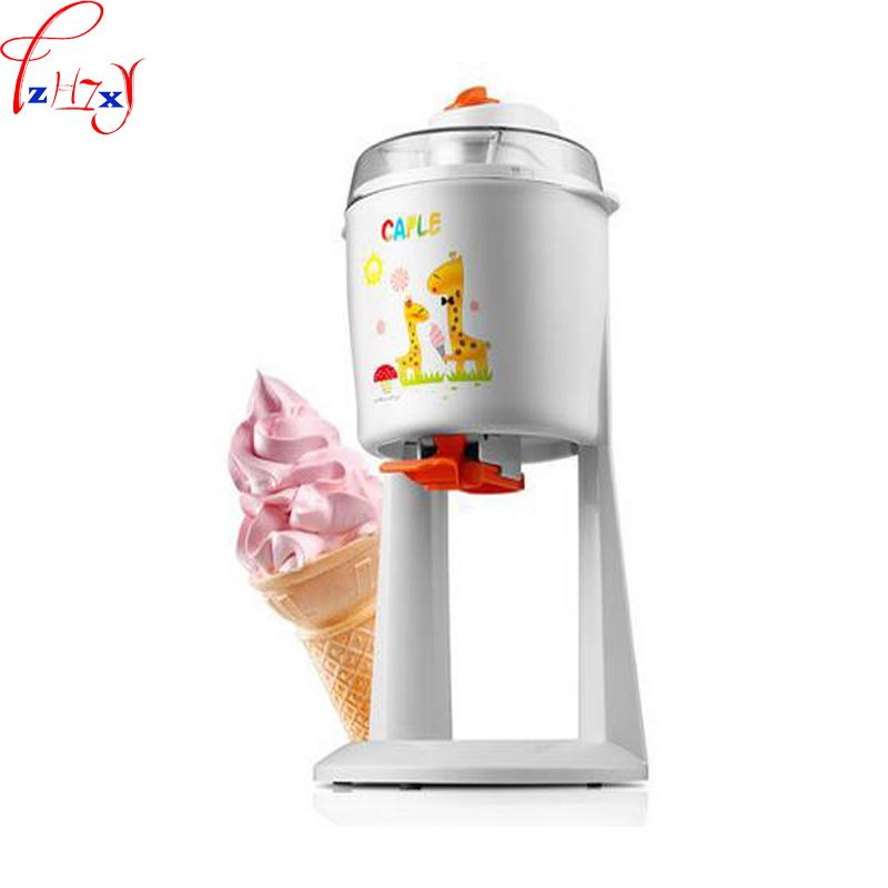 1.2L home automatic ice cream machine DIY fruit pull flower sweet tube ice cream machine 220V 18W 1PC fruit ice cream feeder from factory selling gelato fruit nuts mixer