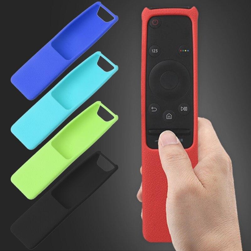 Protective Case For Samsung Smart TV Remote Control UA55KU6300J UA55KU6880J Silicone Skin Cover стоимость