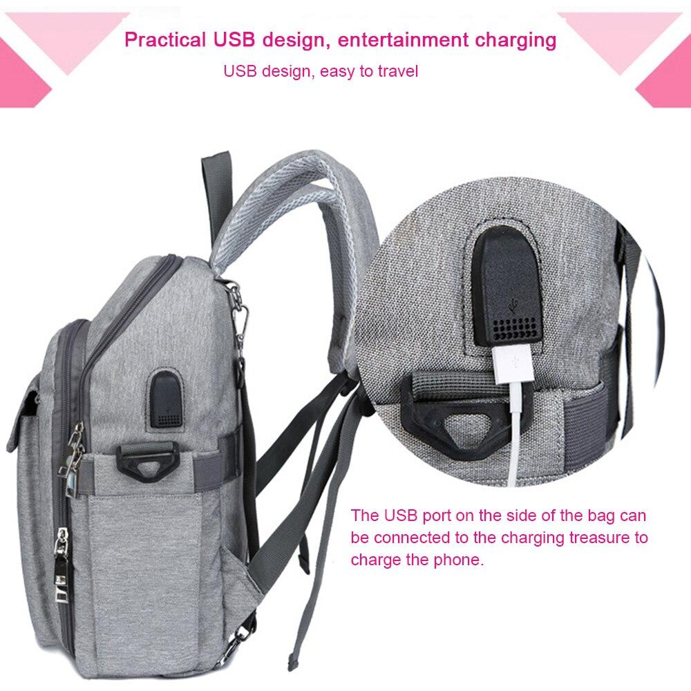 Multi function Mummy Moederschap Luiertas grote Capaciteit Mode Baby Carrier Rugzak Voor Zuigelingen Peuters Dropshipping 3
