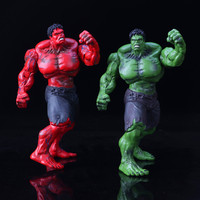Avengers: Age of Ultron The Hulk Red and The Hulk Green 26cm PVC Action Figure Collectible Model Toy In the Bag