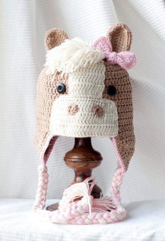 Aliexpress.com: Comprar Niño del ganchillo del sombrero de Viking ...