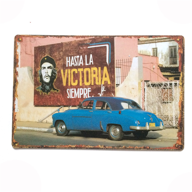 HZ062 Che Guevara poster planque vintage metal painting retro metal tin sign wall stickers home decor cafe bar wall decoration