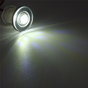 Image 3 - 화이트/블루 33mm led 의례 빛 12 v 해양 보트 rv motorhome livewell 램프 복도 빛