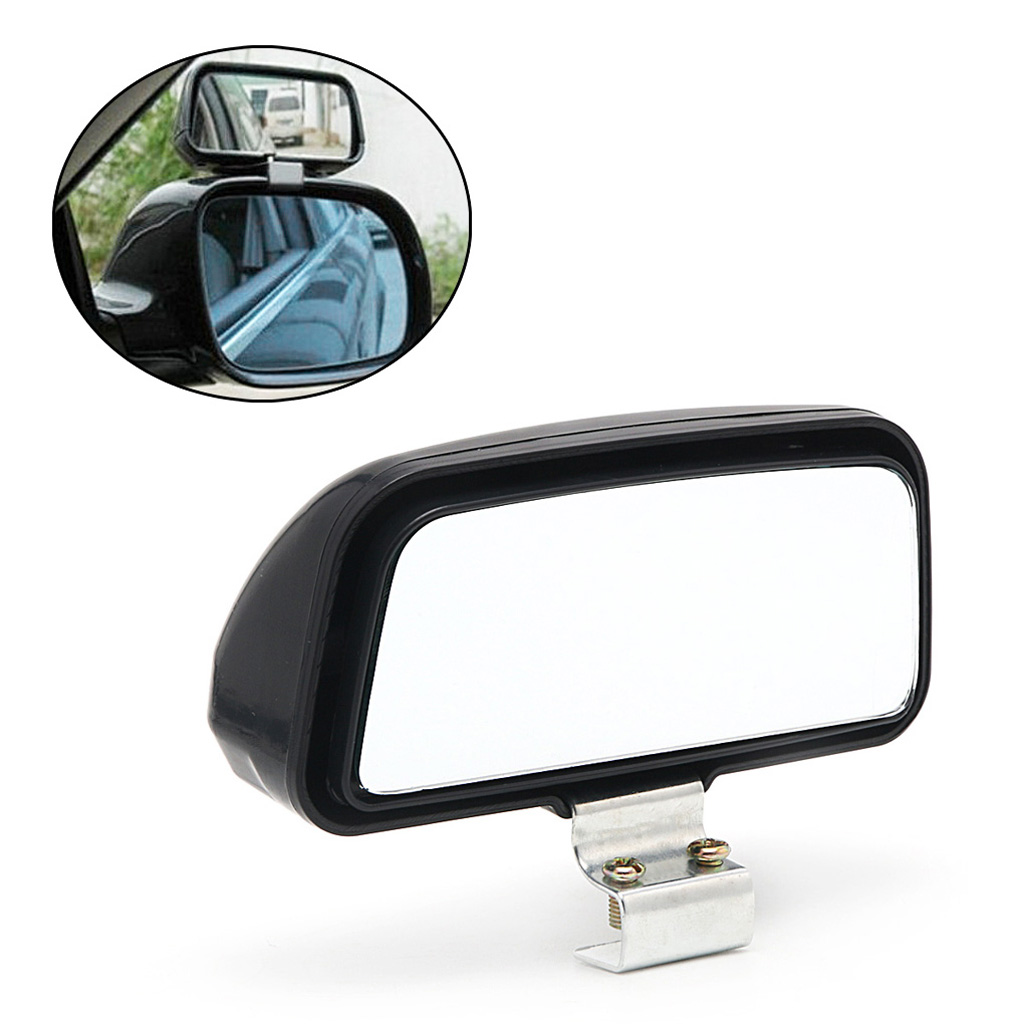1 Pc Car Truck Unversal Adjustable Wide Angle Mirror Rear View Blind Spot 11x7cm Car Accessories