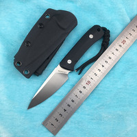 LOVOCOO ramie fixed D2 blade G10 handle flap folding knife outdoor camping hunting pocket fruit knife EDC tool collection gift