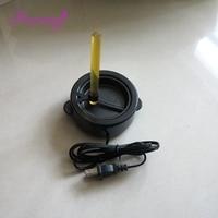 Freeshipping 1pc 60W Hot Melt Adhesive Hot Pot Glue Stove + EU,AU,US,UK outlet hair extension tool- beauty salon use