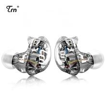 TRN V10 2DD と 2BA ハイブリッドで耳イヤホン DJ ハイファイ Monito ランニングスポーツイヤホンヘッドセット耳栓と 2PIN 着脱式 TRN V80