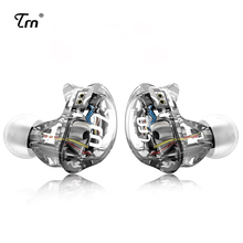 TRN V10 2DD With 2BA Hybrid In Ear Earphone DJ HIFI Monito Running Sport Earphone Headset Earplug With 2PIN Detachable TRN V80
