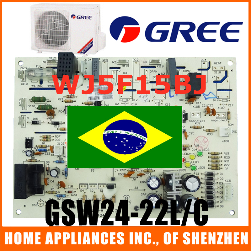gree air conditioner outdoor unit circuit board wj5f15bj. Black Bedroom Furniture Sets. Home Design Ideas