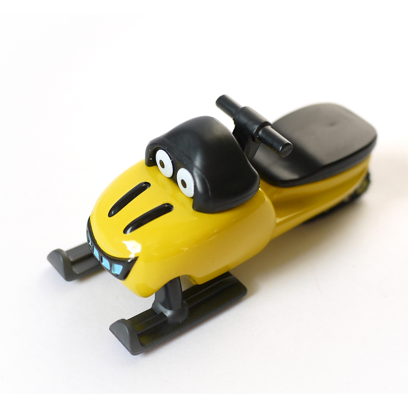 D919 Free shipping Hot selling Childrens toys Bob the builder engineer alloy toy car truck model ( yellow Sled)