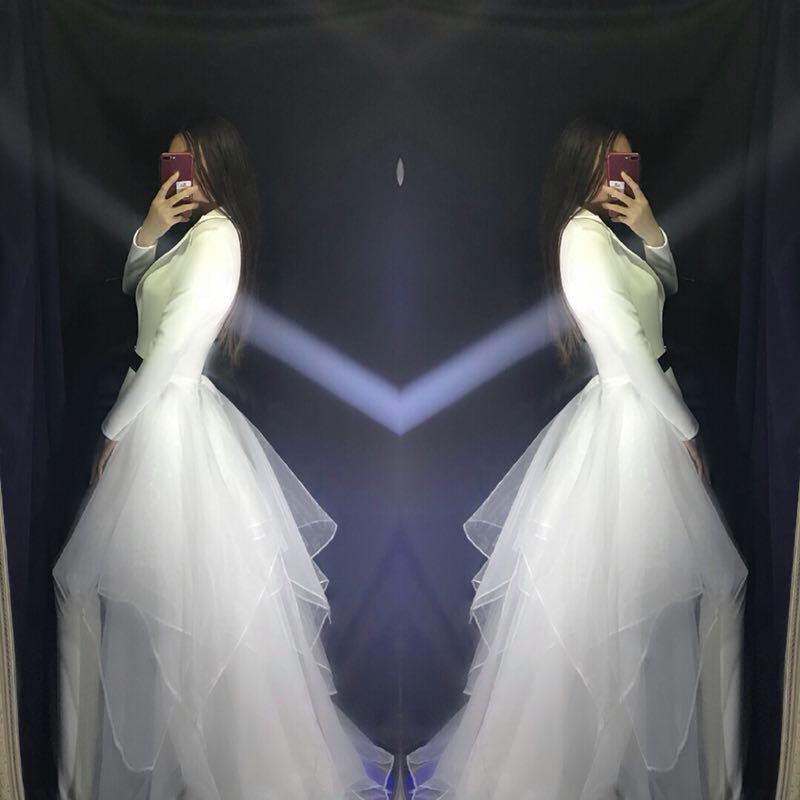 Discothèque Blanc Salopette Dj V Partie Danseur Femelle Performance D'étape Vêtements Sexy Bal Spectacle Jazz Étoiles White Chanteur De Costumes col Mince dqw0E8WXF