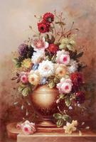 ดอกไม้ในขวดไม้ปริศนาออนไลน์1000ชิ้นไม้ปริศนา1000ชิ้น