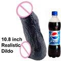 10.8 inch Super Big Dildo Realistic Penis Large sex horse cock dildo For women sex toys big dildo fisting