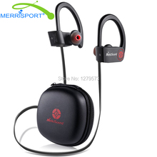 Мини-Спорт Bluetooth 4.1 Наушники Беспроводные Ушной Крючок Стерео Наушники С Микрофоном С Шумоподавлением Наушники Для Iphone Samsung Black