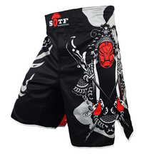 все цены на MMA Shorts Muay thai Competition Kick Boxing Trunks boxe thai Training Shorts Thai Boxing Shorts for Men онлайн