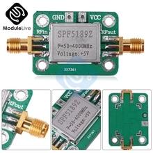 LSPF5189 0.6dB NA 50-4000MHz moduł wzmacniacza RF o niskim poziomie szumów szerokopasmowa płyta wzmacniacza odbiornik sygnału dla radia FM HF VHF/krótkofalowe uhf