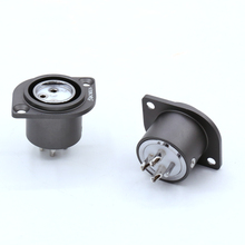 VIBORG Pure Copper Rhodium Plated XLR 3 pin Male Female socket PTFE insulation