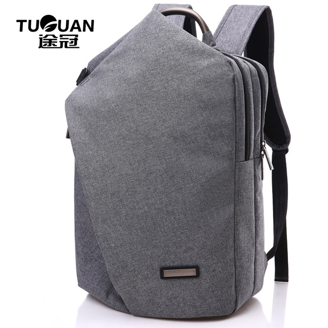 a2a7e560bfca 2019 Brand Fashion Korean Simple Style Men Business Nylon Practical  Backpacks Women Travel Laptop Bags College Student Backpack