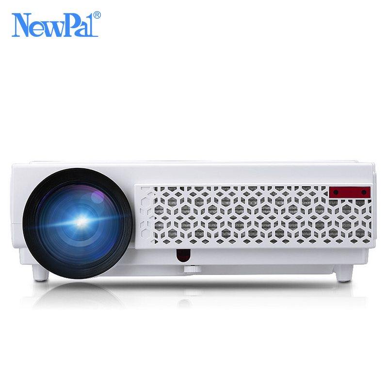 NewPal Projector 3000 Lumens LED Projector Set in Android4.4 WIFI Bluetooth AC3 Full HD 1080P Video Media Player 3D Beamer 2016 win10 3d 1080p full hd dlp led video 4k projector 1280x800 hd bluetooth wifi 5500 lumens 1g 32g and support wireless wifi