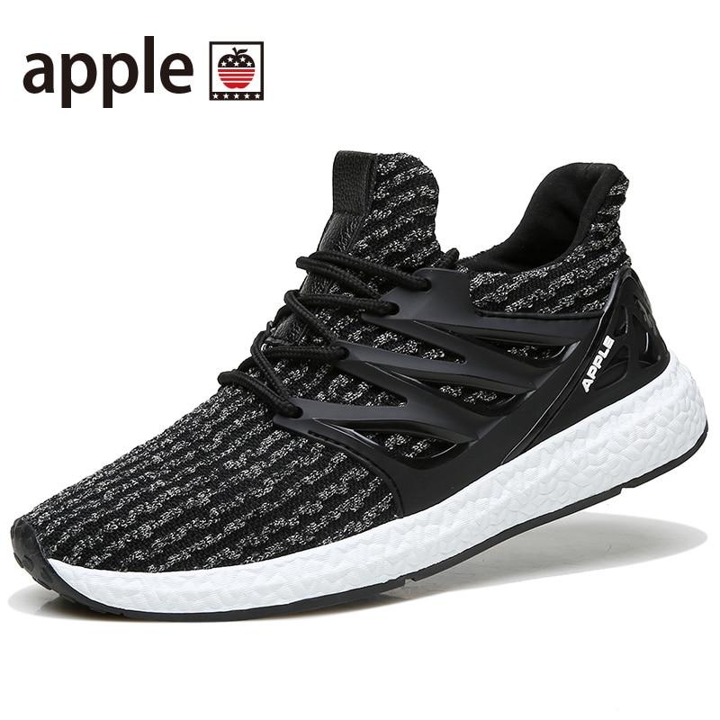 US $46.16 |Męskie sportowe buty do biegania rytm muzyki męska trampki oddychające oczek sportowe na świeżym powietrzu lampka na buty męskie buty w