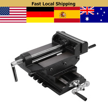 6inch Table Vise Drill Press Milling Vise Clamp Cross Slide Parallel Jaw Work Bench Vice Woodworking Tool