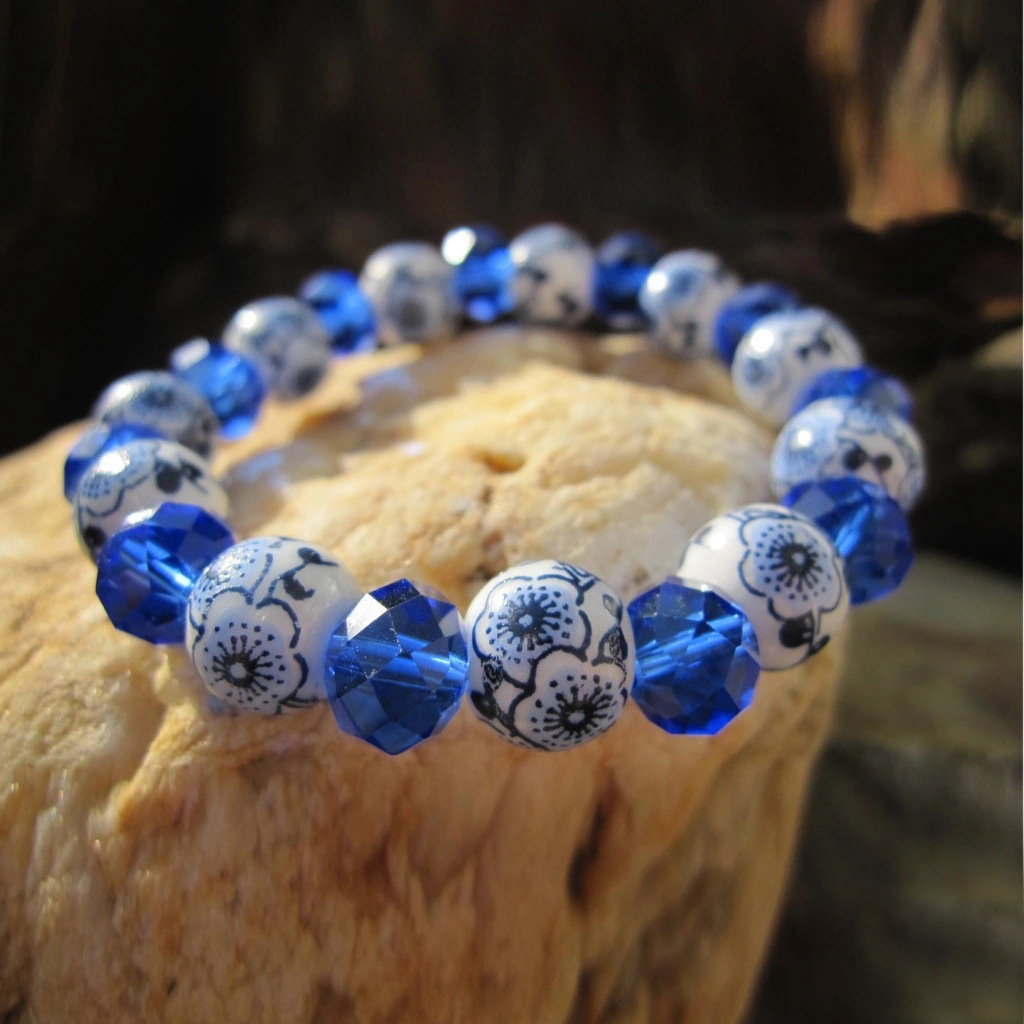 ethnic bracelets jewelry Ceramic crystal bracelet wholesale