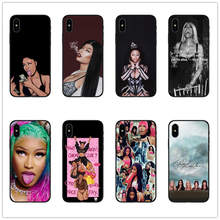 Onika Tanya Maraj My Queen Roman Reloaded black Silicone TPU phone Case Cover for iPhone 8 7 6 6S Plus 5 5S SE X XS Max XR Coque(China)