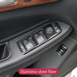 Deurklink Venster Lift Schakelaar Knop Cover Trim Frame Voor Mercedes Benz Een W176 B W246 C W204 E W212 gle W166 Cla W117 Gla X156
