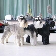 Модные украшения, фигурки, миниатюры, немецкий шнауцер, товары для собак, фрески, аксессуары, модели собак, фигурки, миниатюры