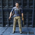 Game Uncharted 4 A Thiefs End Nathan Drake Mysterious Sea Area Cartoon Toy PVC Action Figure Model Doll Gift