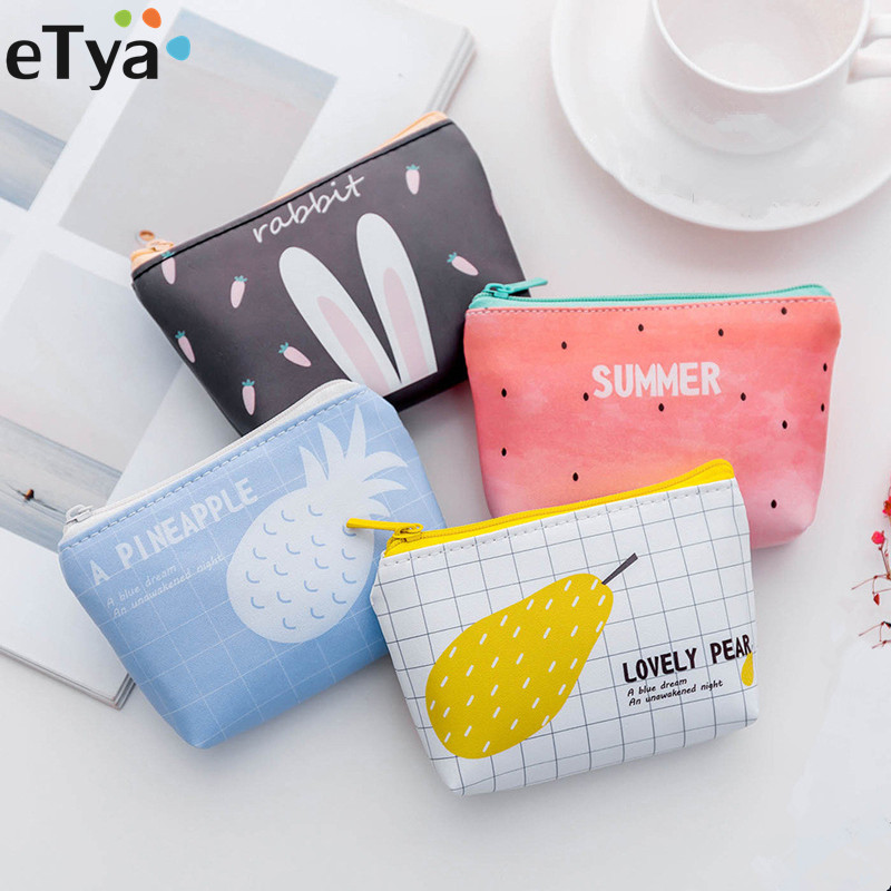Cartoon Cute Small Kids Womens Purse Coin Wallet Purse Money Pouch Cactus Change Pouch Key Canvas Lovely Girls The Swing Holder Kids & Baby's Bags Purses & Wallets