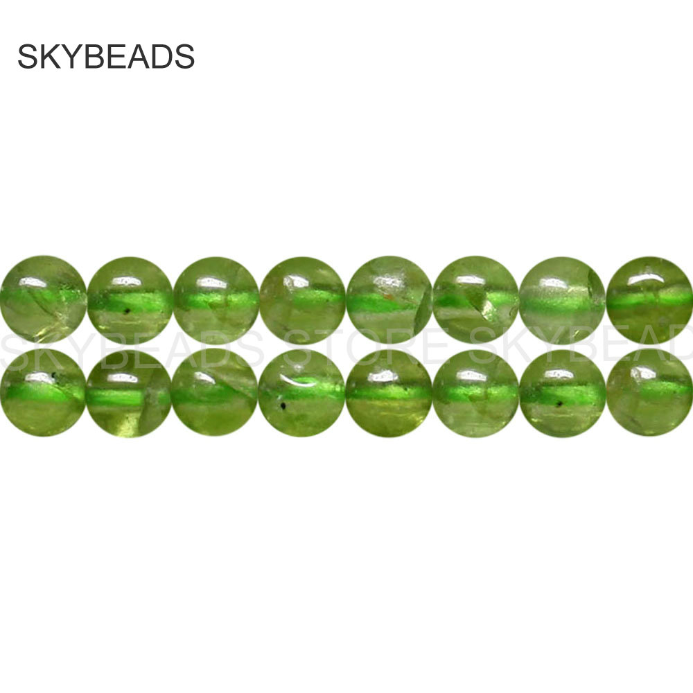 Small Size Beads: Natural Periodt Gem Stone Small Size Round 3mm 4mm Beads