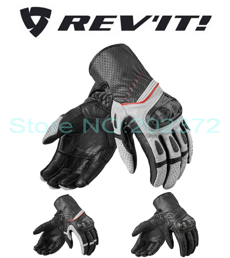 New Netherlands REV'IT Chevr0n 2 motorcycle gloves summer revit motorbike glove made of leather have 3 kinds of colors