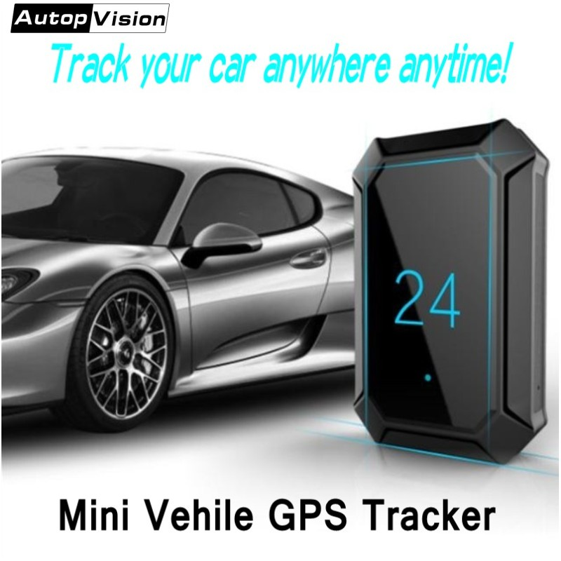 Portable Mini GPS Tracker A10 GPS Tracker Locator for Car Vehicle with Google map 5000mah long battery life gsm gprs tracker h06a multi functional gsm gps gprs car vehicle tracker black