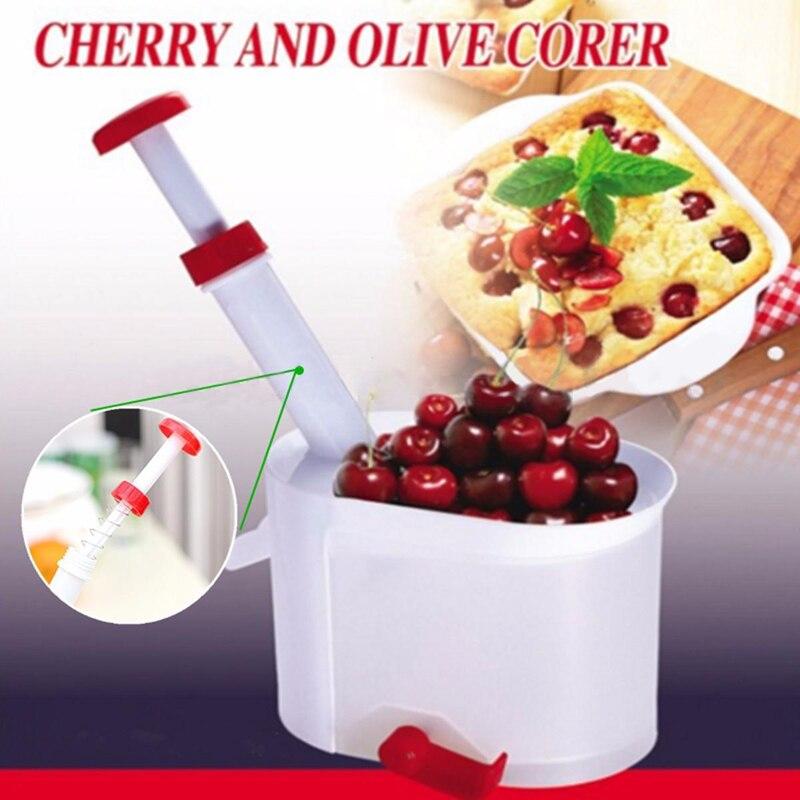 Cherry Aceituna Pitter Piedra Máquina Removedor De Semillas de Cereza Corer Cont