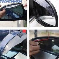 Acessórios do carro espelho retrovisor sombra de chuva para polo volkswagen bmw e36 hyundai creta fiat palio lancer nissan março bmw e39|Kit de retrovisor dobrável| |  -