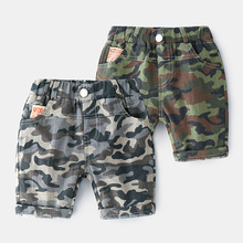 Summer Boys Camouflage Shorts Children Pants For Kids Casual Beach