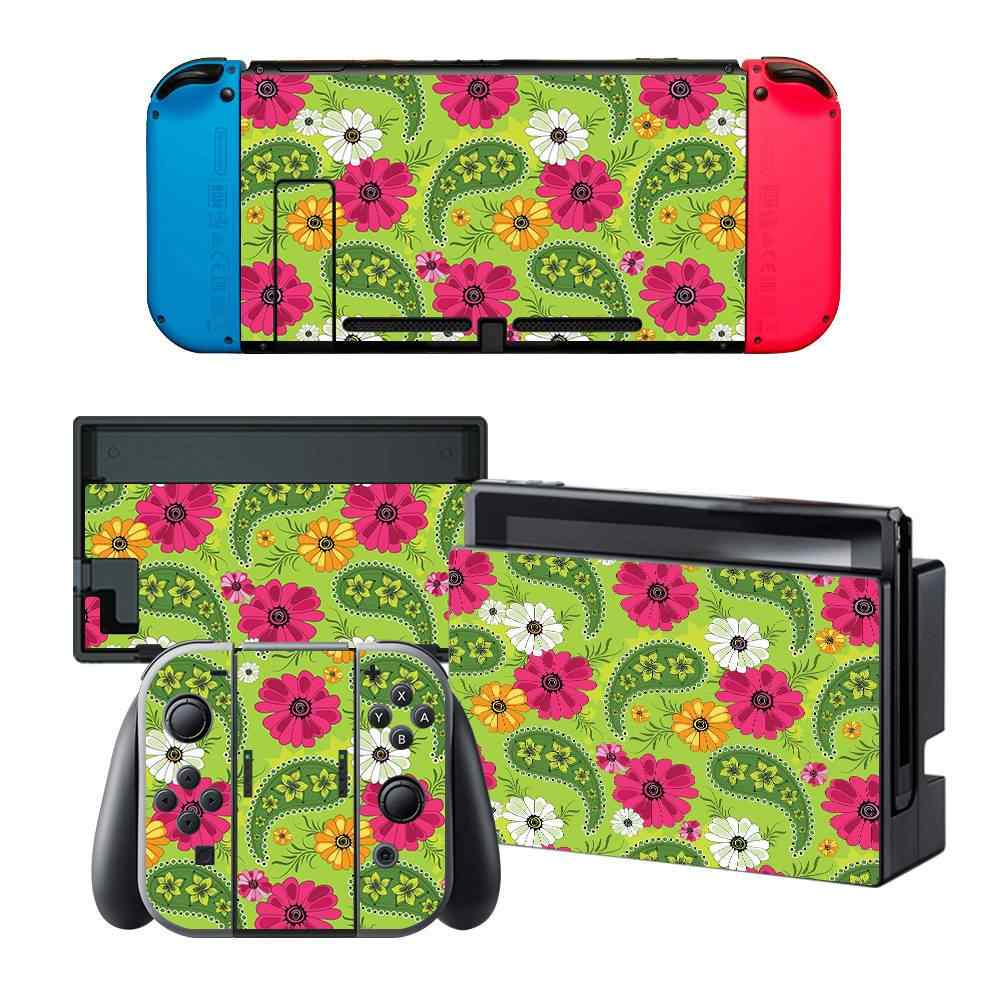 Data Frog For Nintend Switch Skin Full Wrap Sticker Decal Protector Cover Vinyl Game Protective Skin Stickers For NS Console